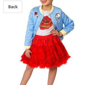 Disney Beauty and the beast tutu set